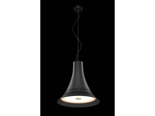 SLV BATO 35 hanglamp zwart 1xLED 2700K