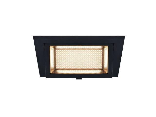 SLV ALAMEA LED Inbouw zwart 1xLED 3000K 35W