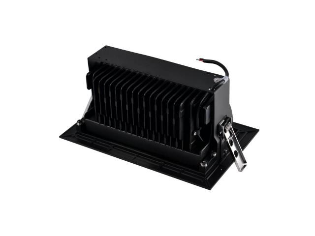 SLV ALAMEA LED Inbouw zwart 1xLED 3000K 45W