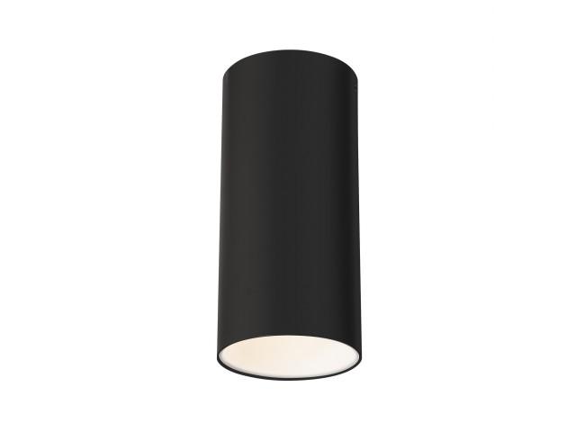 SLV ANELA LED plafondlamp zwart 1xLED 3000K
