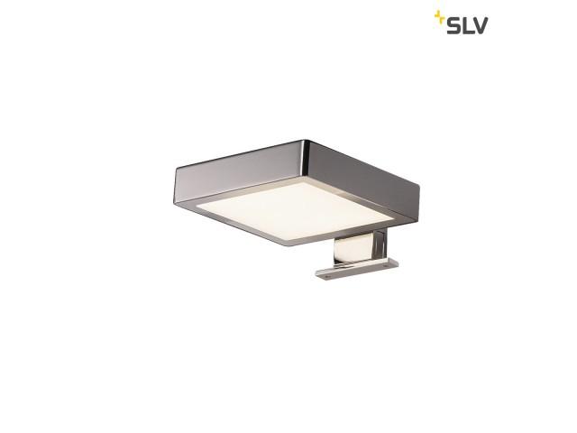 SLV DORISA LED vierkant chroom 1xLED 4000K