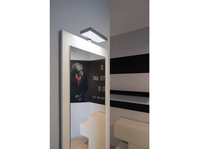 SLV DORISA LED rechthoek chroom 1xLED 4000K
