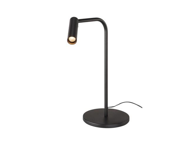 SLV KARPO tafellamp zwart 1xLED 3000K