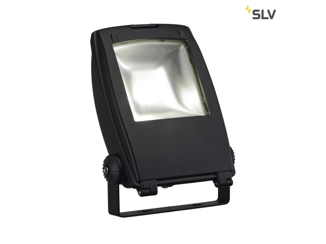 SLV LED FLOOD LIGHT 30W zwart 1xLED 5700K