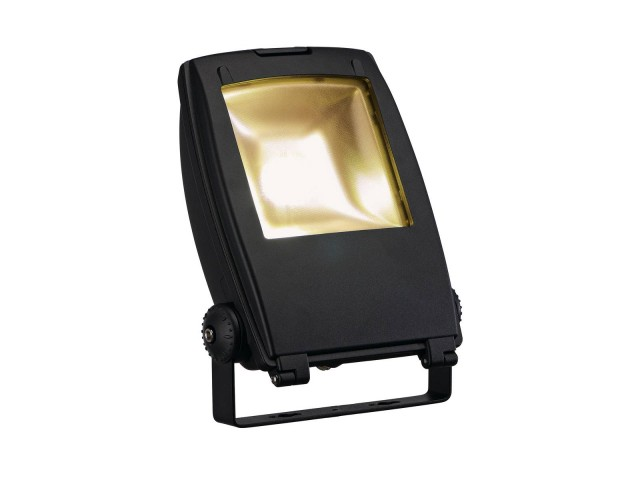 SLV LED FLOOD LIGHT 30W zwart 1xLED 3000K