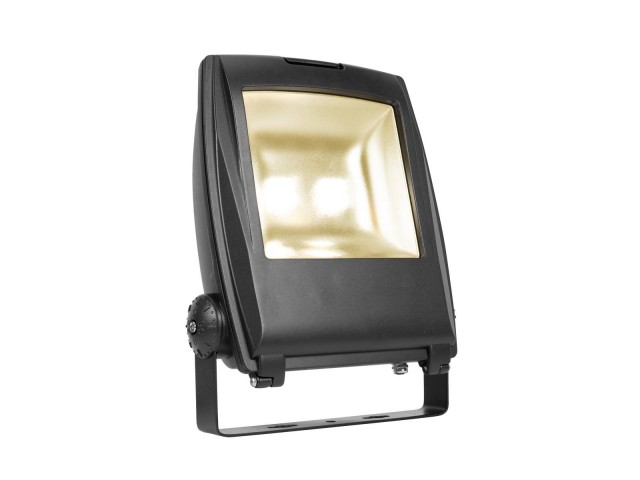 SLV LED FLOOD LIGHT 80W zwart 1xLED 3000K