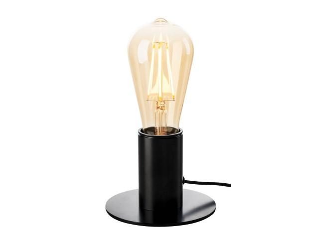 SLV FITU tafellamp zwart 1xE27