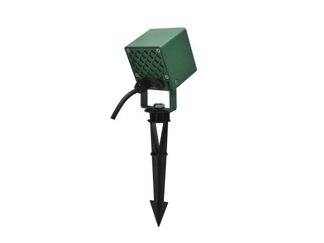 SLV NAUTILUS 10 SPIKE groen 1xLED 3000K