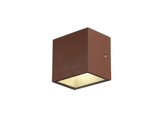 SLV SITRA CUBE wandlamp roest 1xLED 3000K