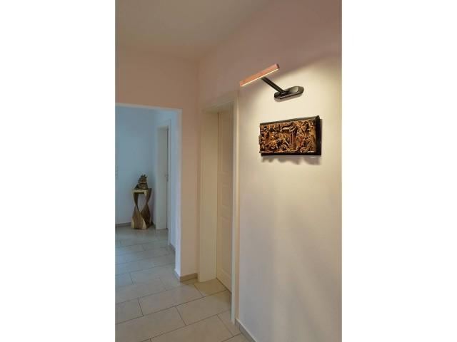 SLV VINCELLI D wandlamp lang bamboe 1xLED 2700K