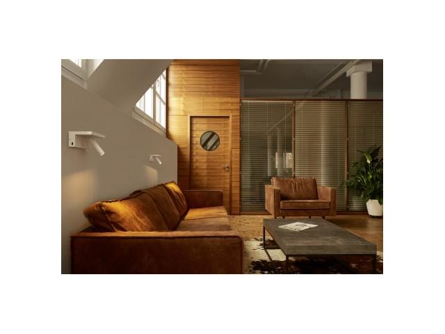 SLV KARPO Bedside wit 1xLED 3000K