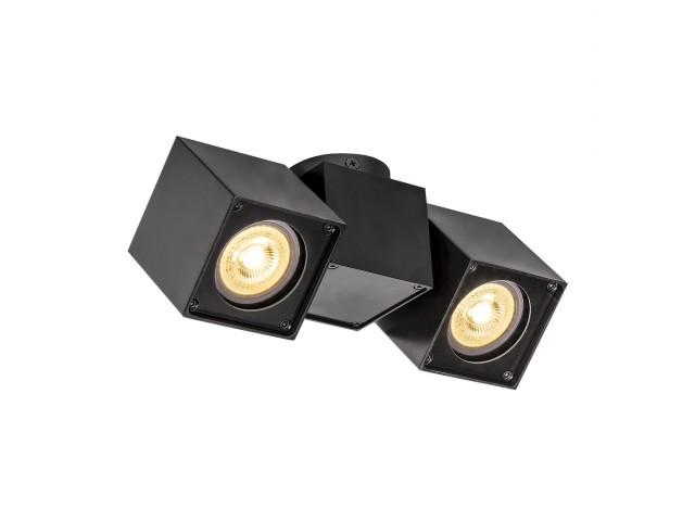 SLV ALTRA DICE Double zwart 2xGU10