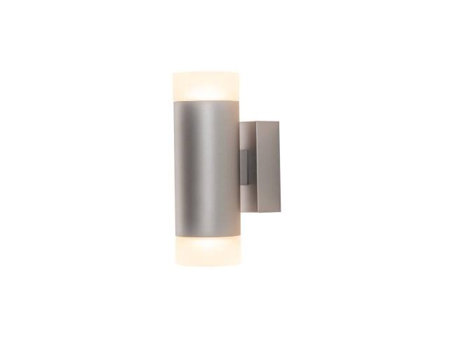 SLV ASTINA WL UP/DOWN wandlamp grijs 2xGU10