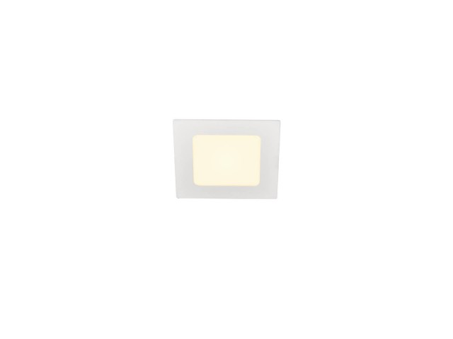 SLV SENSER 12 INBOUW vierkant wit 1xLED 3000K