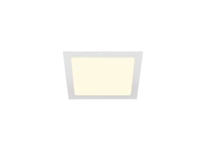 SLV SENSER 24 INBOUW vierkant wit 1xLED 3000K