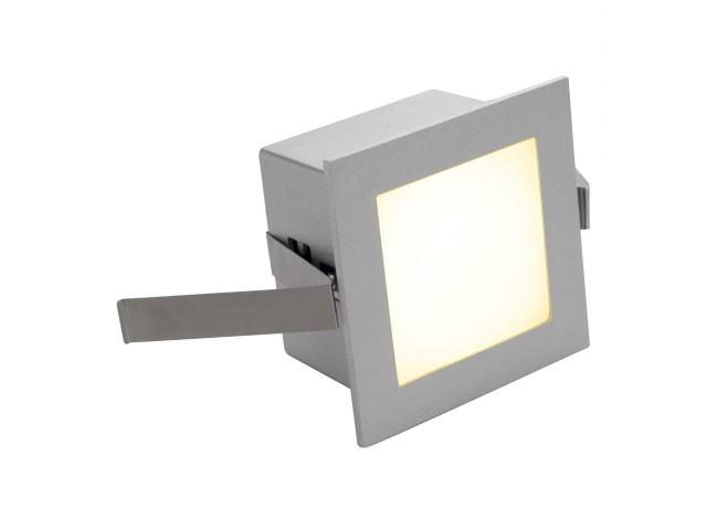 SLV FRAME BASIC LED zilvergrijs 1xLED 3000K
