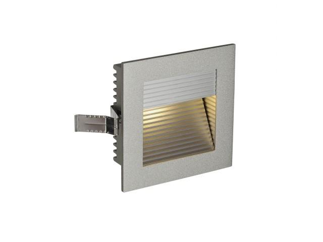 SLV FRAME CURVE LED zilvergrijs 1xLED 3000K