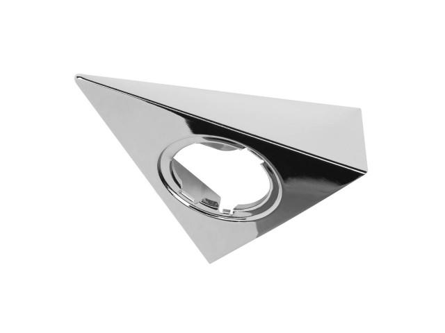 SLV Triangel inbouwbehuizing voor 3W Downlight chroom
