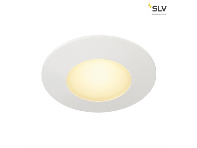 SLV AITES LED ROUND wit 1xLED 3000K