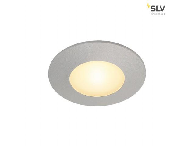 SLV AITES LED ROUND zilvergrijs 1xLED 3000K