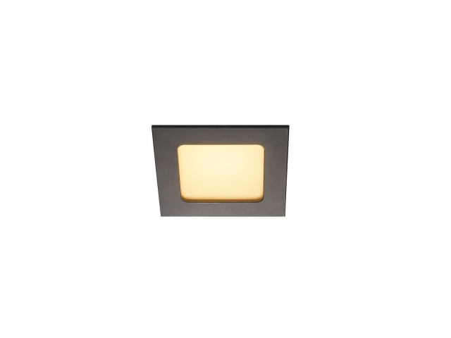 SLV FRAME BASIC LED SET zwart mat 1xLED 3000K