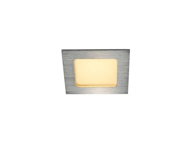 SLV FRAME BASIC LED SET alu geborsteld 1xLED 3000K