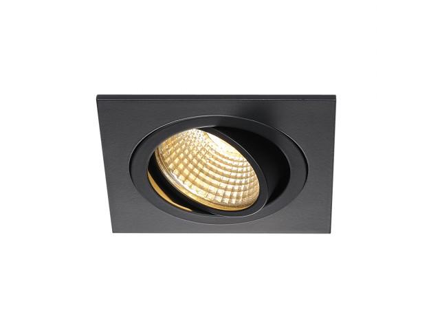SLV NEW TRIA LED SQUARE SET zwart mat 1xLED 2700K