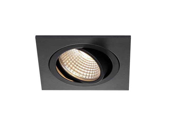 SLV NEW TRIA LED SQUARE SET zwart mat 1xLED 3000K