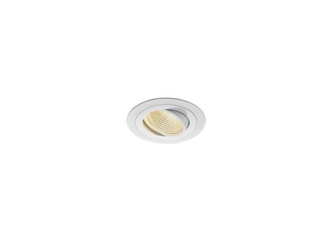 SLV NEW TRIA LED DL ROUND SET, wit 1xLED 3000K 15W
