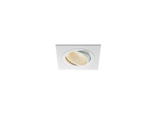 SLV NEW TRIA LED DL SQUARE SET, wit 1xLED 3000K 15W