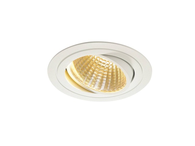 SLV NEW TRIA LED DL ROUND SET, wit 1xLED 2700K 25W