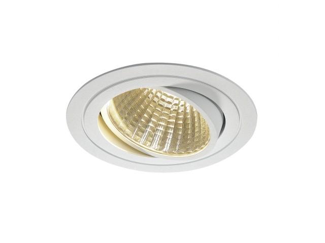SLV NEW TRIA LED DL ROUND SET, wit 1xLED 3000K 25W