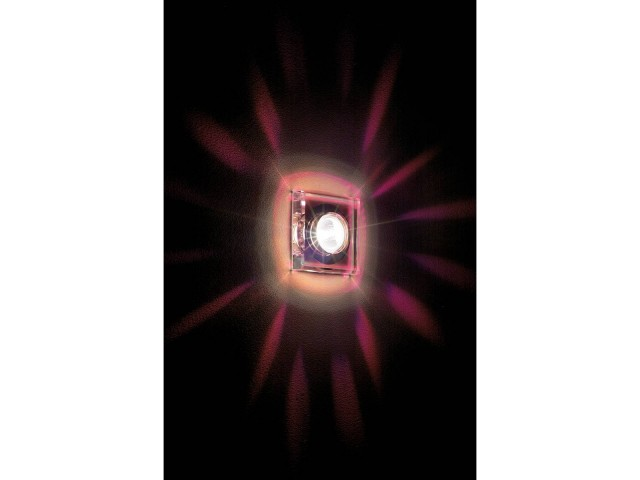 SLV CRYSTAL 1 chroom/kristal helder 1xGU5,3