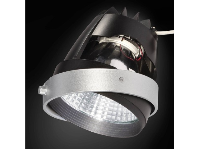 SLV COB LED MODULE zilvergrijs 70gr CRI90 4200K
