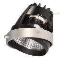 BIG WHITE 115251: COB LED MODULE zilvergrijs 12gr CRI90 3200K, BIG WHITE LED modules (SLV 115251)
