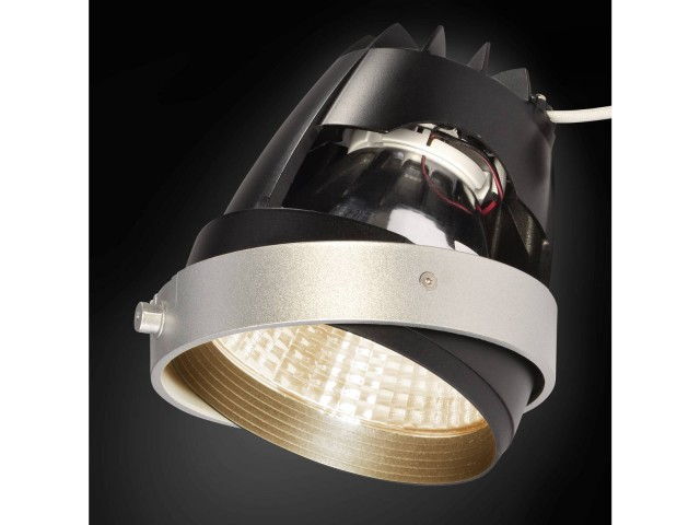 SLV COB LED MODULE zilvergrijs 70gr CRI90 3200K