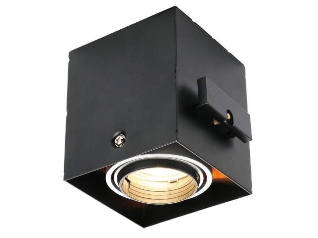 SLV AIXLIGHT PRO 50 1 FRAMELESS zwart inbouwframe