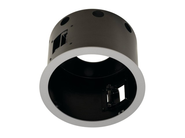 SLV AIXLIGHT PRO 1 FLAT FRAME ROUND zi.grijs/zwart