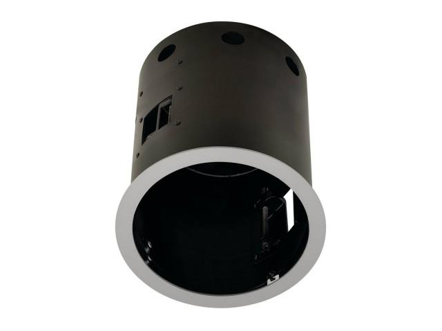 SLV AIXLIGHT PRO 1 FRAME ROUND zilvergrijs/zwart
