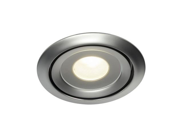 SLV LUZO LED DISK chroom mat 1xLED 2700K