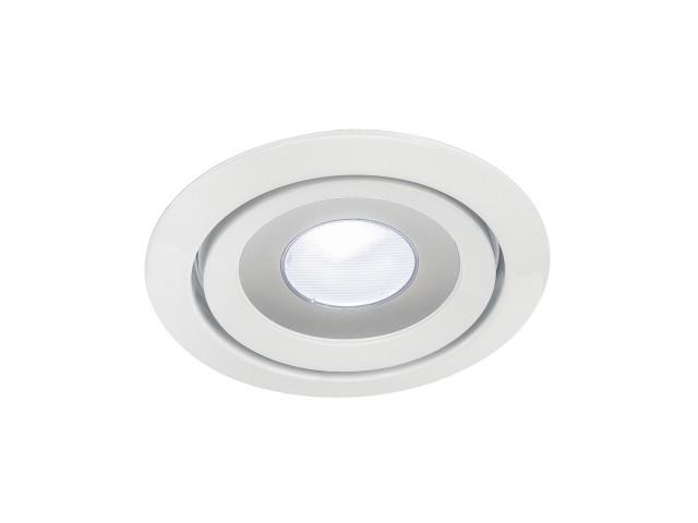 SLV LUZO LED DISK wit 1xLED 4000K