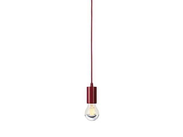 SLV FITU hanglamp 1xE27 wijnrood