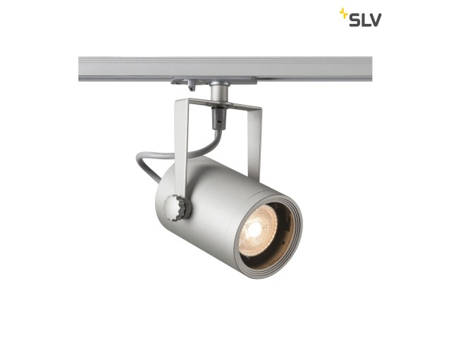 SLV EURO SPOT GU10 zilvergrijs 1xGU10 1-Fase