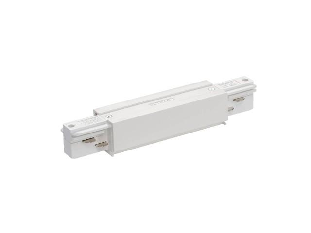 SLV Doorverbinder voor 3-fase rail wit, opbouw
