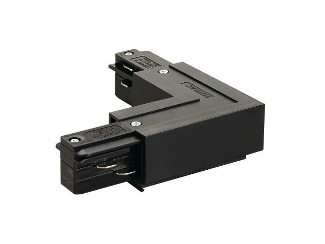 SLV L-verbinder 2 voor 3-fase rail zwart