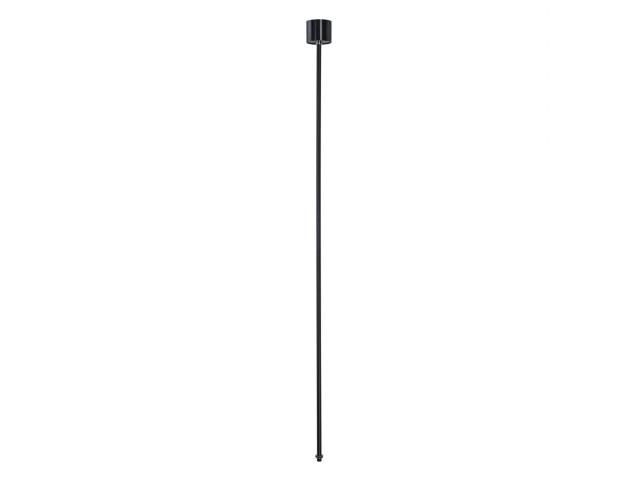 SLV Pendelophanging 3-fase rail zwart 120cm