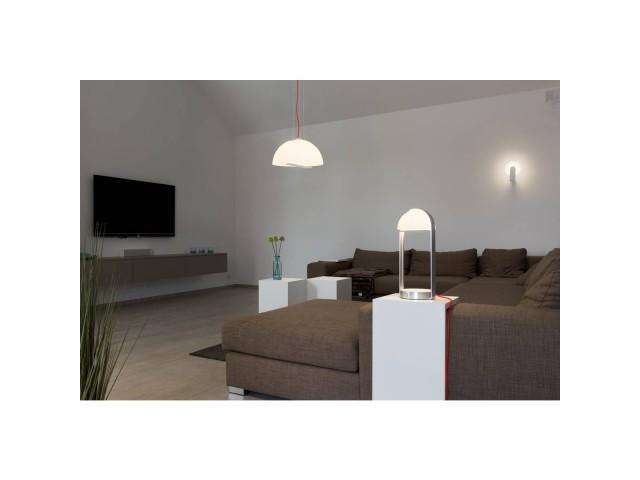 SLV BRENDA wandlamp wit/zilver 1xLED 3000K