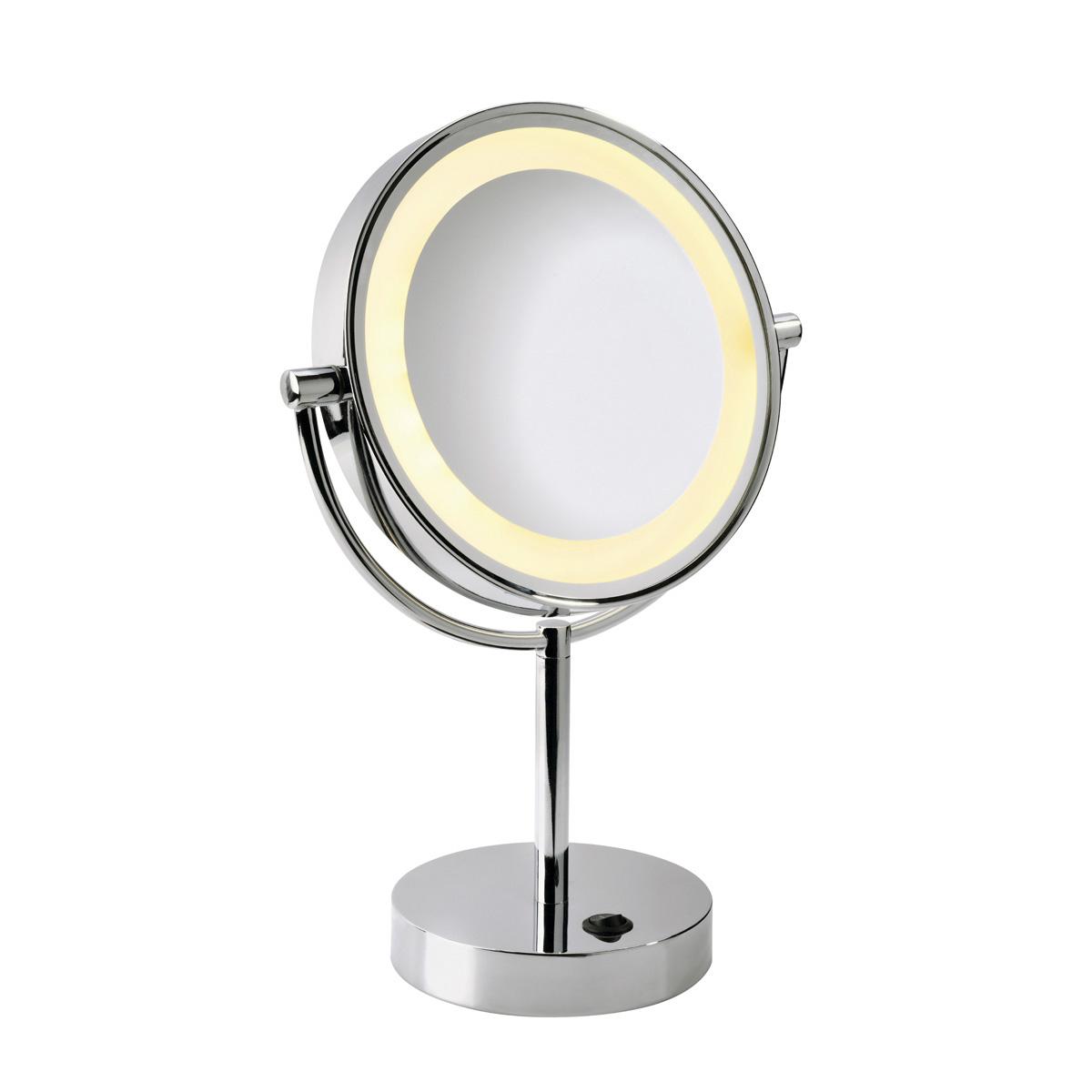 koop online vissardo tafel make up spiegel chroom 1xled. Black Bedroom Furniture Sets. Home Design Ideas