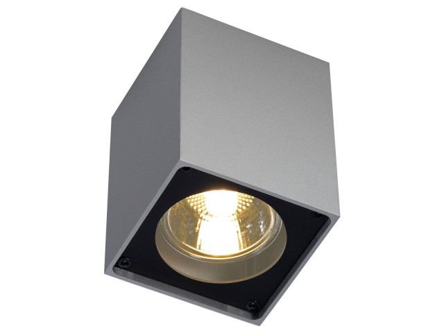 SLV ALTRA DICE CL-1 zilvergrijs/zwart 1xGU10