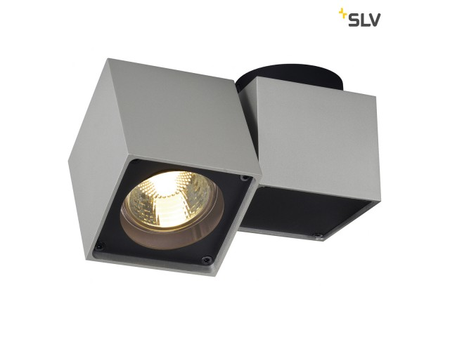 SLV ALTRA DICE SPOT 1 zilvergrijs/zwart 1xGU10